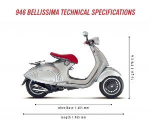 Vespa 946 Bellisima -
