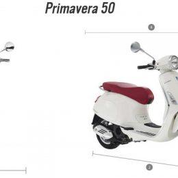 Vespa Primavera 50 -