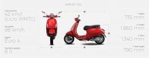 Vespa Sprint 150 -