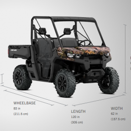 Can-Am Defender HD8 DPS -