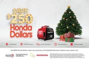 HONDA EU22i CHRISTMAS SALE! -