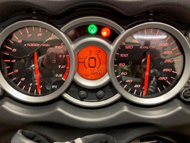Suzuki Bandit - speedometer