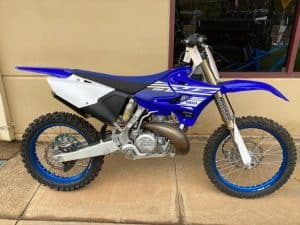 Yamaha YZ250K - right side