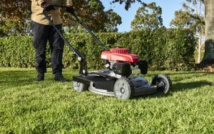 Honda HRS216 Mower -