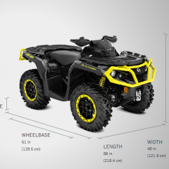 can-am outlander 1000xt-p